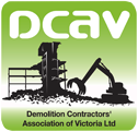 Demolition Contractors Association logo