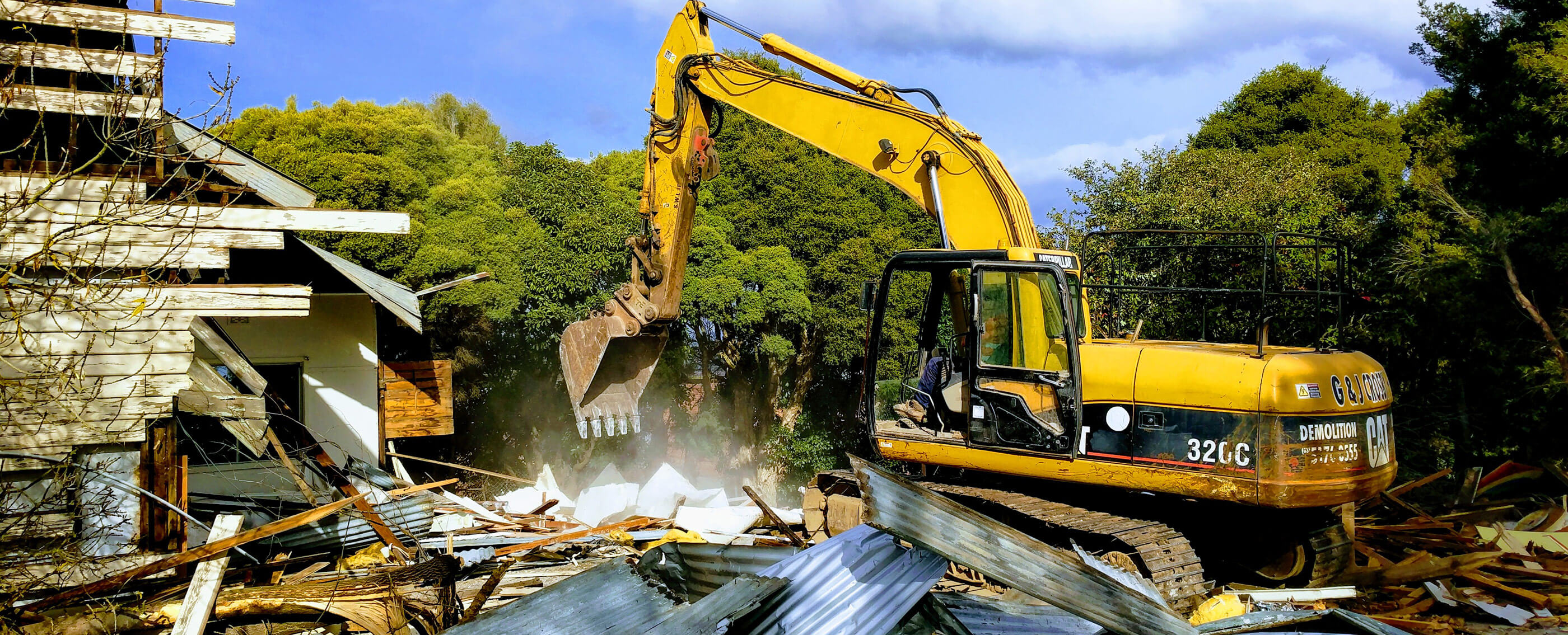 Industrial Demolition by Crosby Contractors