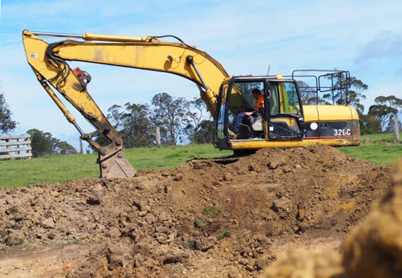 Excavation by Crosby Contractors