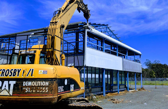 Industrial Demolition by Crosby Contractors
