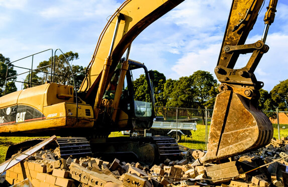 Domestic Demolition by Crosby Contractors