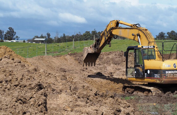 Earthworks by Crosby Contractors